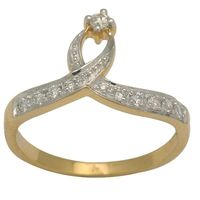 Diamond Rings - BAR0177, si - ijk, 12, 18 kt