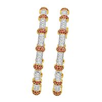 Traditional Diamond Bangles-RBA002, vvs-gh, 18 kt