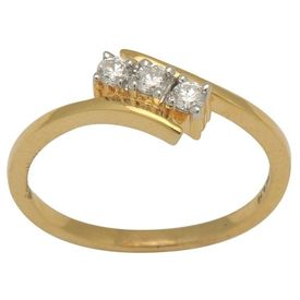 Diamond Rings - BAR0071A, si - ijk, 12, 14 kt