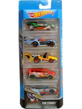 Hot Wheels Fan Stands 5 Piece Pack