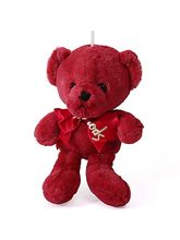 Dream Shopping Cute Pink Teddy Soft Toy With Ribbo...