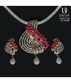 Diamond Ruby Crossover Set, red