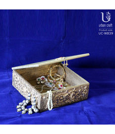 Wedding Invitation Box, golden