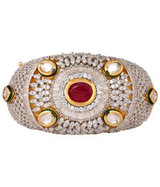 Diamond Divine Bracelet, red