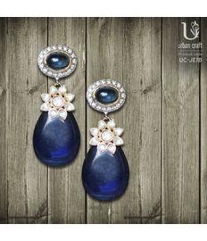 Kundan Blossom, blue
