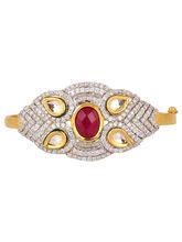 Red Stone Bracelet, red