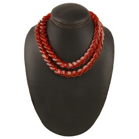 Crimson Glory Duo Necklace