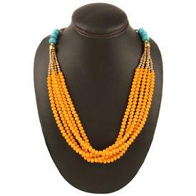 Orange Cosmos Necklace