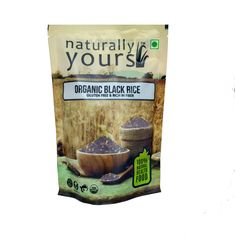 Black rice 1.5kg (Pack of 3 x 500g)