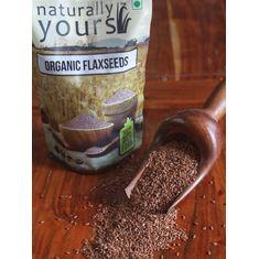 Organic Flax Seeds 1KG (Bulk)