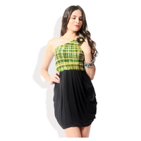 Glam and Luxe Casual Dress, s,  green