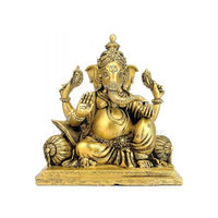 Gajkarna Lord Vinayak Brass Sculpture, brass