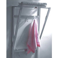 Jumbo Towel Stand, home care, 16 x11 x 30, stainless steel