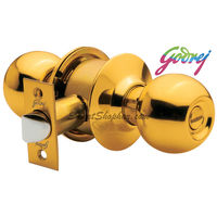 Godrej Brass Classic Door Knob Lock With Key
