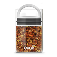 Evak Mini - Vaccum Glass food storage,  White