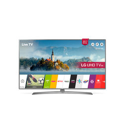 LG 49inch UHD 4K Smart TV- 49UJ670V, 49 Inch