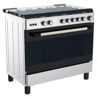 MIDEA 90x60 GAS COOKER - LME95030FFD,  STAINLESS STEEL
