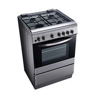 LG 60x60 Gas cooker,  Silver