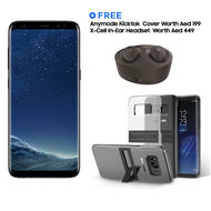 Samsung Galaxy, S8,  Midnight Black