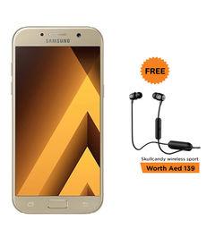 Samsung Galaxy A5(2017) SMA520F+ 64GB MicroSD Bundle,   Gold
