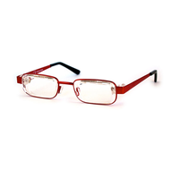 Eyejusters - Adjustable reading glasses,  Red