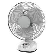 """Elekta 12"""" Rechargeable Desk Fan, ERF-D821, 12 Inch"""