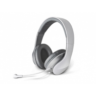 EDIFIER K830WHT Soft Leather Headband with Removable Mic,  White