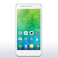 "Lenovo C2 MOBILE - Dual Sim/Android 6.0 /5.0 HD"" Display/8MP+ 5MP Camera/8GB+ 1GB RAM/2750 mAh,  White"