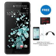HTC U ULTRA (99HALU015-00) BRILLIANT MOBILE,  Black