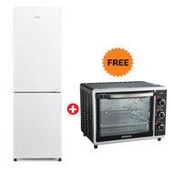 Hitachi French Bottom Freezer Refrigerator RBG410 ( Capacity: 410L),  White
