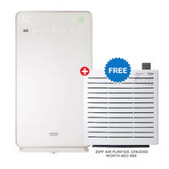 Hitachi Air Purifier With Humidifier - EP-M70E,  White