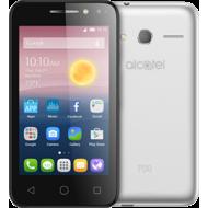 ALCATEL PIXI4 5 LTE/DUAL SIM/5.0 FWVGA/Android 6.0/Quad Core 1.0 Ghz/8GB+ 1GB RAM/8MP+ 5MP Camera/ 2000mAh,  silver