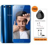 Huawei Honor 9 Dual Sim, LTE, Android 7.0, 5.15 Display, 20MP+ 12MP Rear Camera+ 8 MP Front Camera, 128GB+ 6GB RAM, 3200 mAh,  Blue