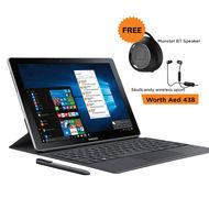 "Samsung SM-W727 Galaxy Book i5/12"" /LTE/4GB-128GB/ 13MP/Win10,  Black"