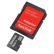 SDSDQM-B35A, Card+ Adapter, Mobile, 16 GB