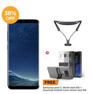 Samsung Galaxy, S8 Plus,  Midnight Black