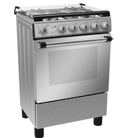 MIDEA 60 x 60 FULL SAFETY GAS COOKER ( LME62027FFD),  White
