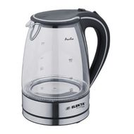 Elekta Platinum 1.7L Glass Kettle with Blue LED, Transparent Glass