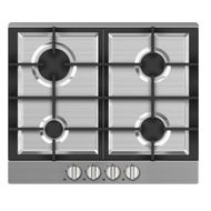 MIDEA 60 CM GAS HOB WITH SAFETY (60G40ME005SFN),  STAINLESS STEEL