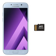 Samsung Galaxy A5(2017) SMA520F+ 64GB MicroSD Bundle,  Blue