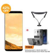 Samsung Galaxy, S8,  Maple Gold