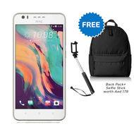 "HTC Desire10 - LTE/ DUAL SIM/5.5"" /13MP/32GB/3GB/2700mAh,  Polar white"