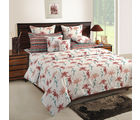 Swayam White Double Bed Sheet With Pillow Covers