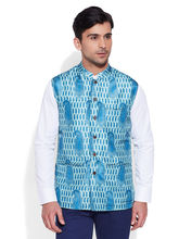 Very Me Digital Nehru Jacket (M-DNJ-1307), 36, turquoise
