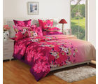Swayam MultiSingle Bed Sheet With Pillow Covers