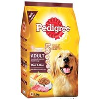 Pedigree Meat and Rice Adult Dog Food 1.2 Kg