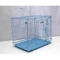 DOG CAGE- BLUE 77.5X49X58CM