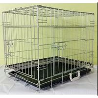 CHROME PLATED METAL CAGE 56X33X41CM