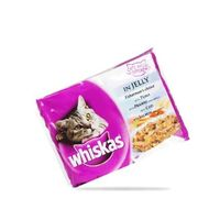 Whiskas Fisherman's Choice in Jelly 400 gms