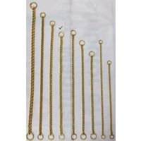 BRASS CHOCK CHAIN NO12X20